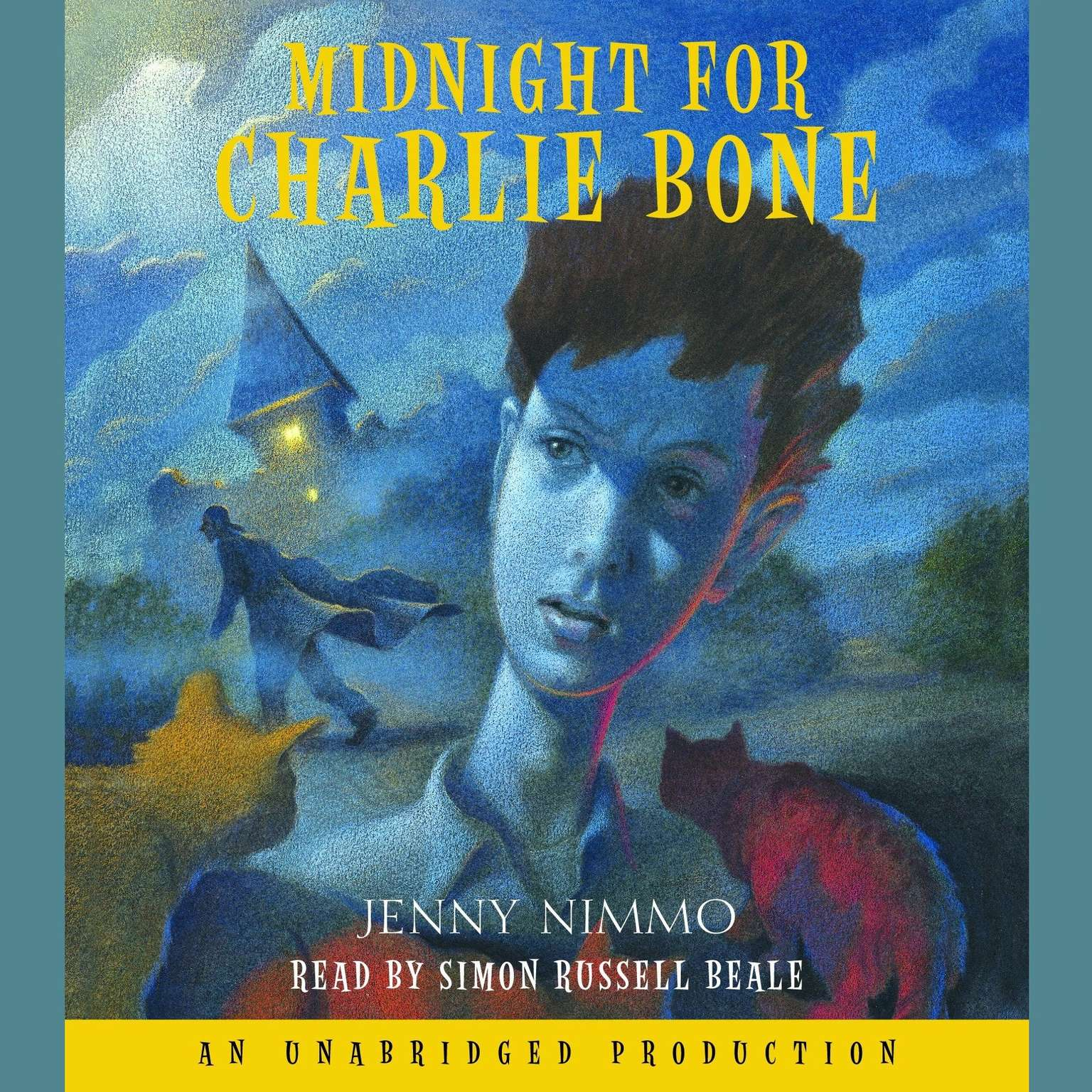 Printable Midnight for Charlie Bone Audiobook Cover Art