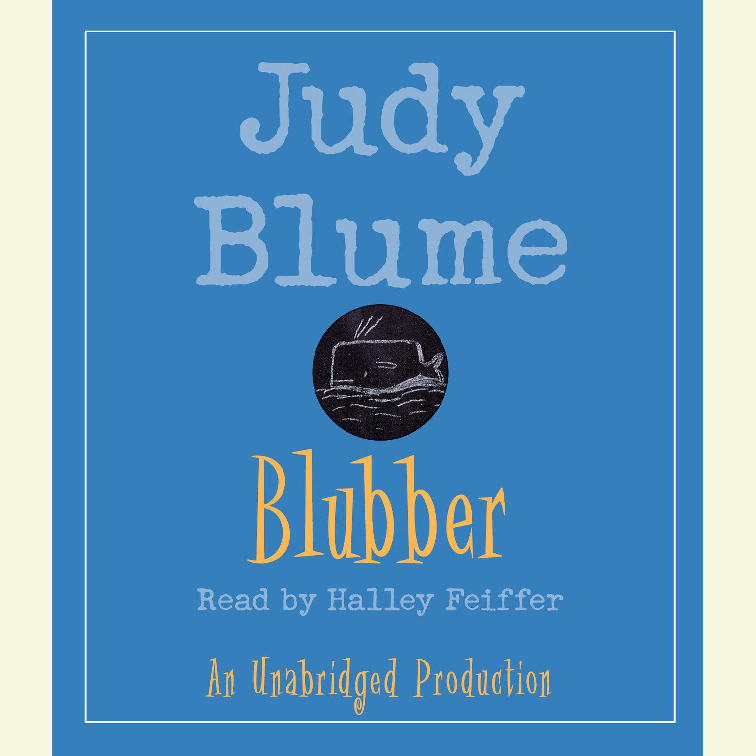 Printable Blubber Audiobook Cover Art