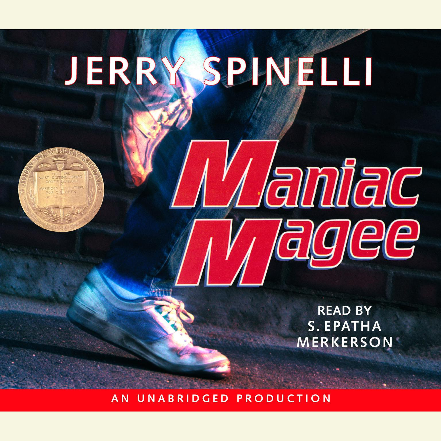 Printable Maniac Magee Audiobook Cover Art