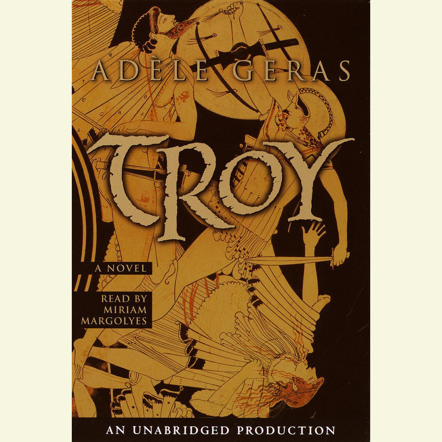 Printable Troy Audiobook Cover Art
