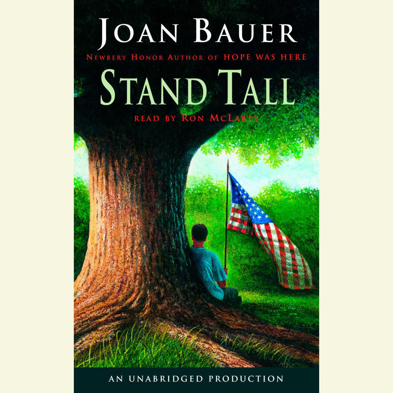 Printable Stand Tall Audiobook Cover Art