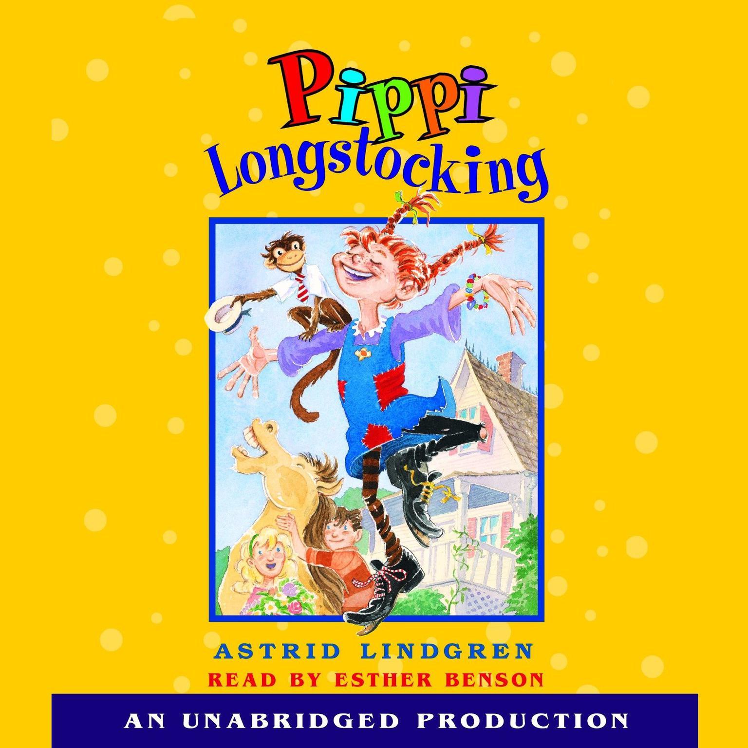 Printable Pippi Longstocking Audiobook Cover Art
