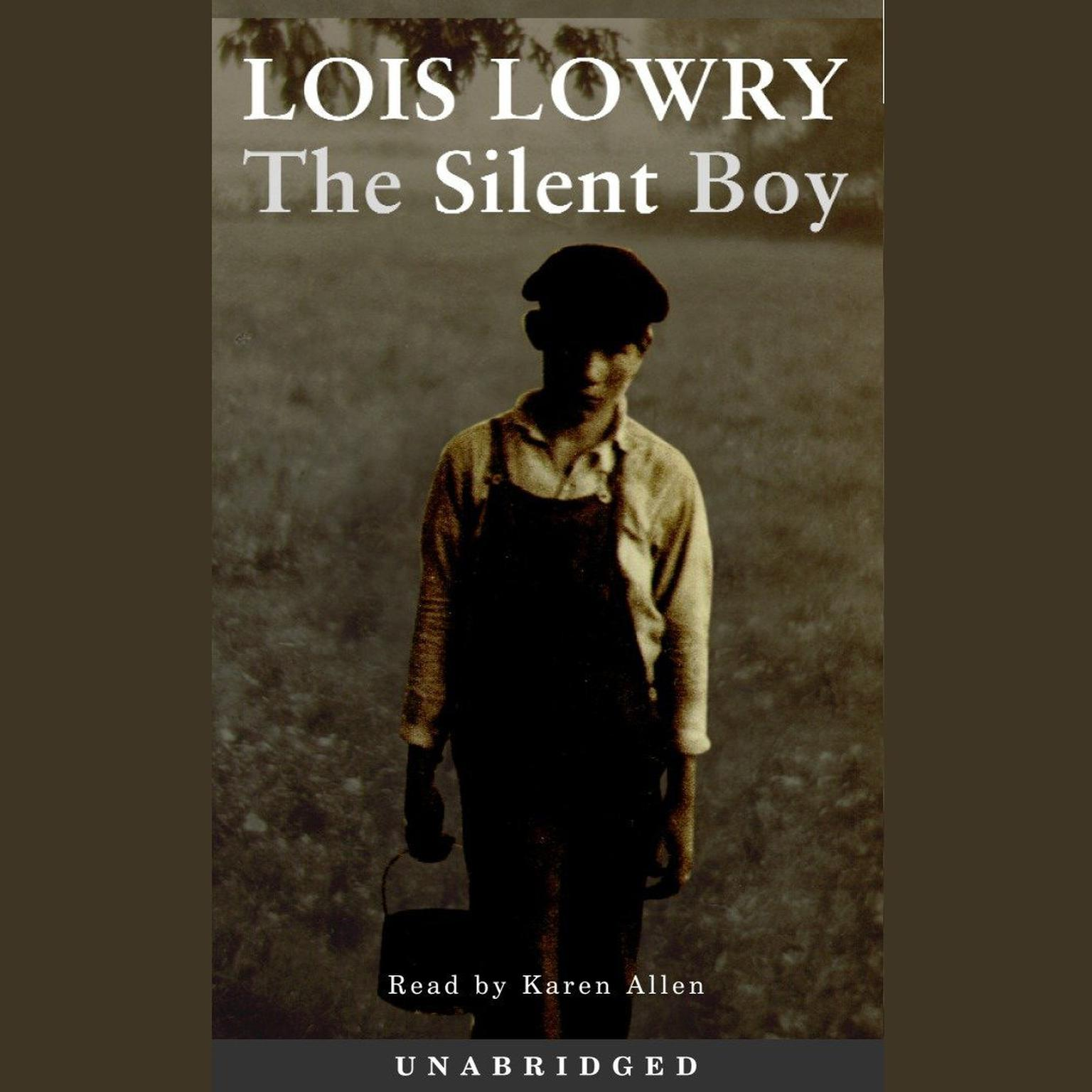 Printable The Silent Boy Audiobook Cover Art