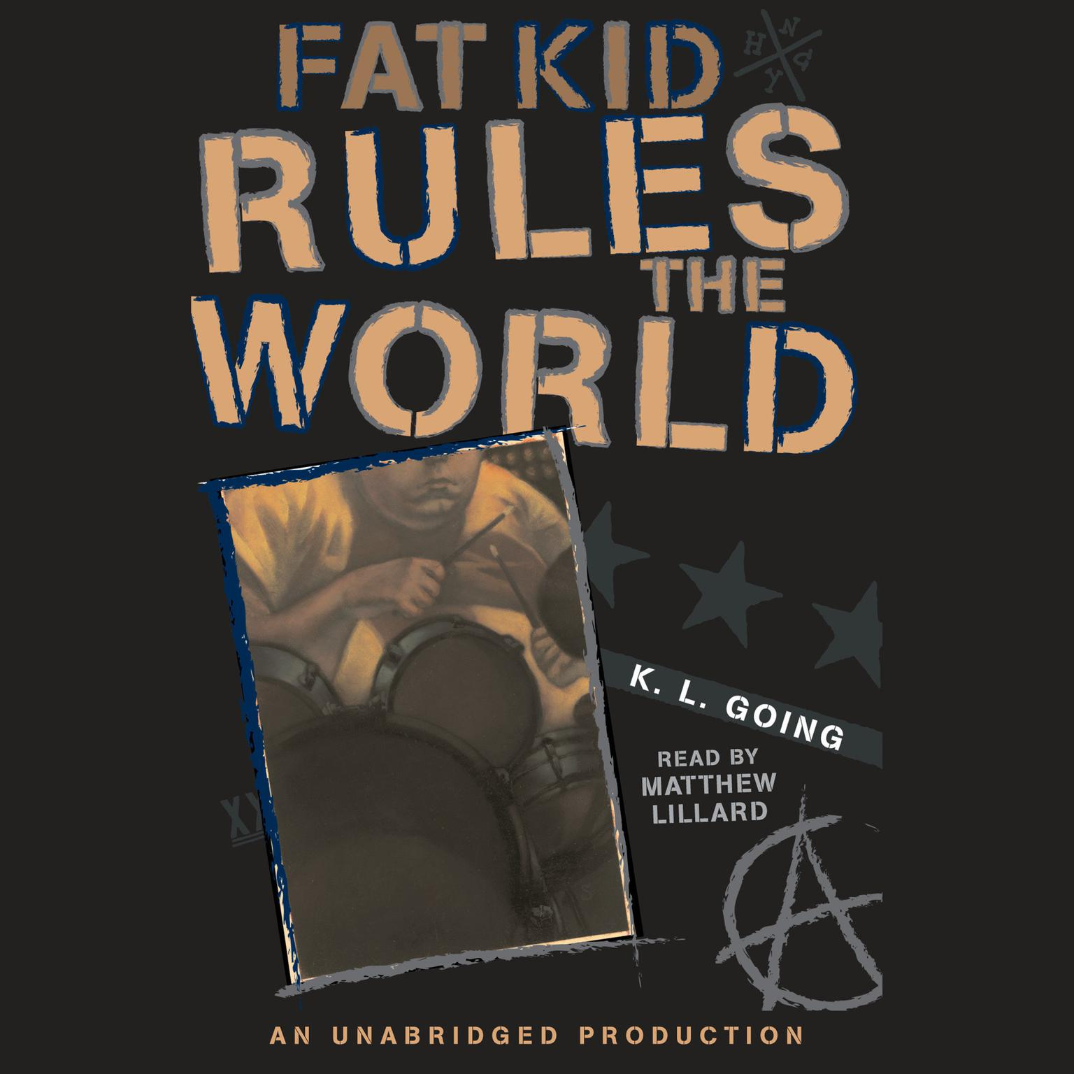 Printable Fat Kid Rules the World Audiobook Cover Art