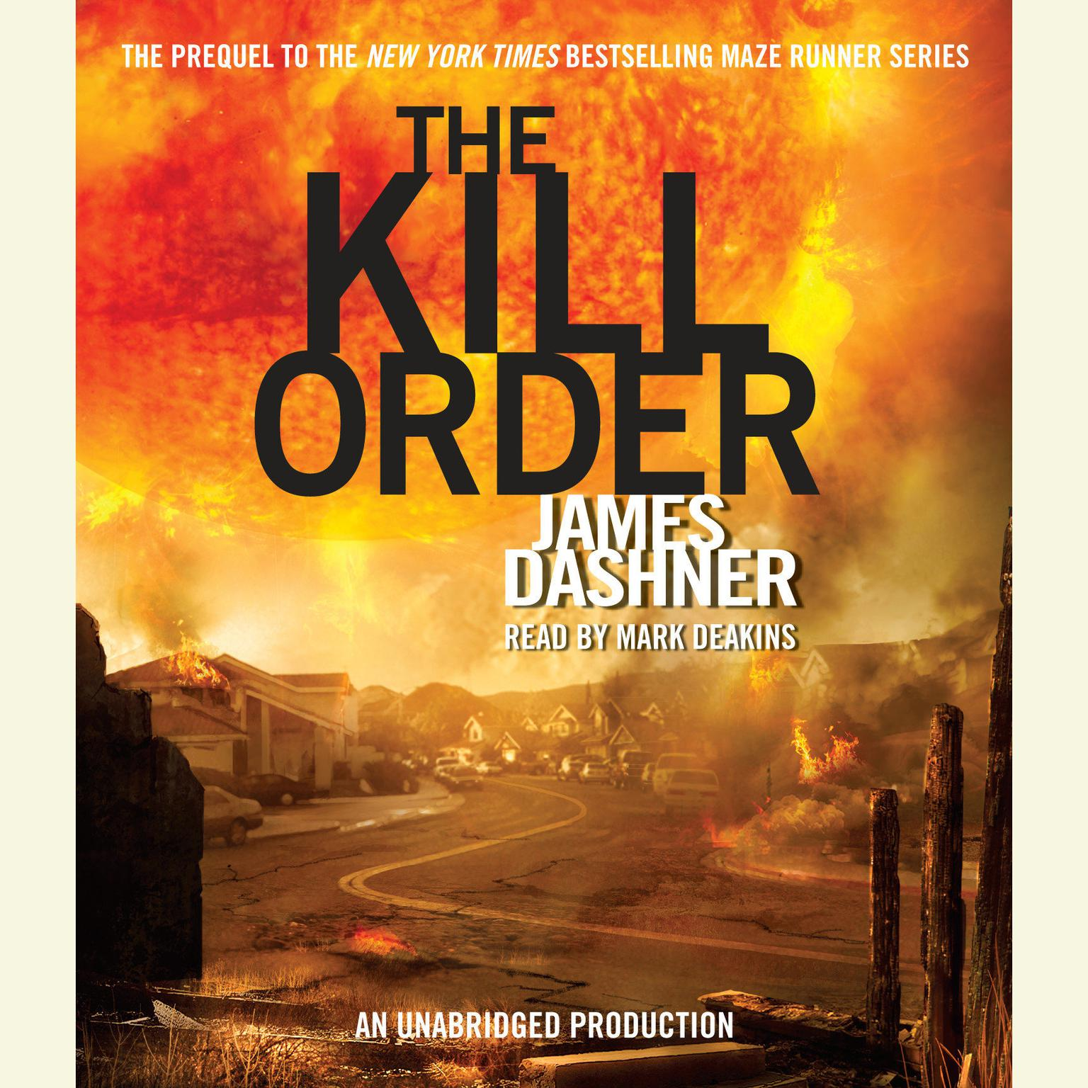 Printable The Kill Order Audiobook Cover Art