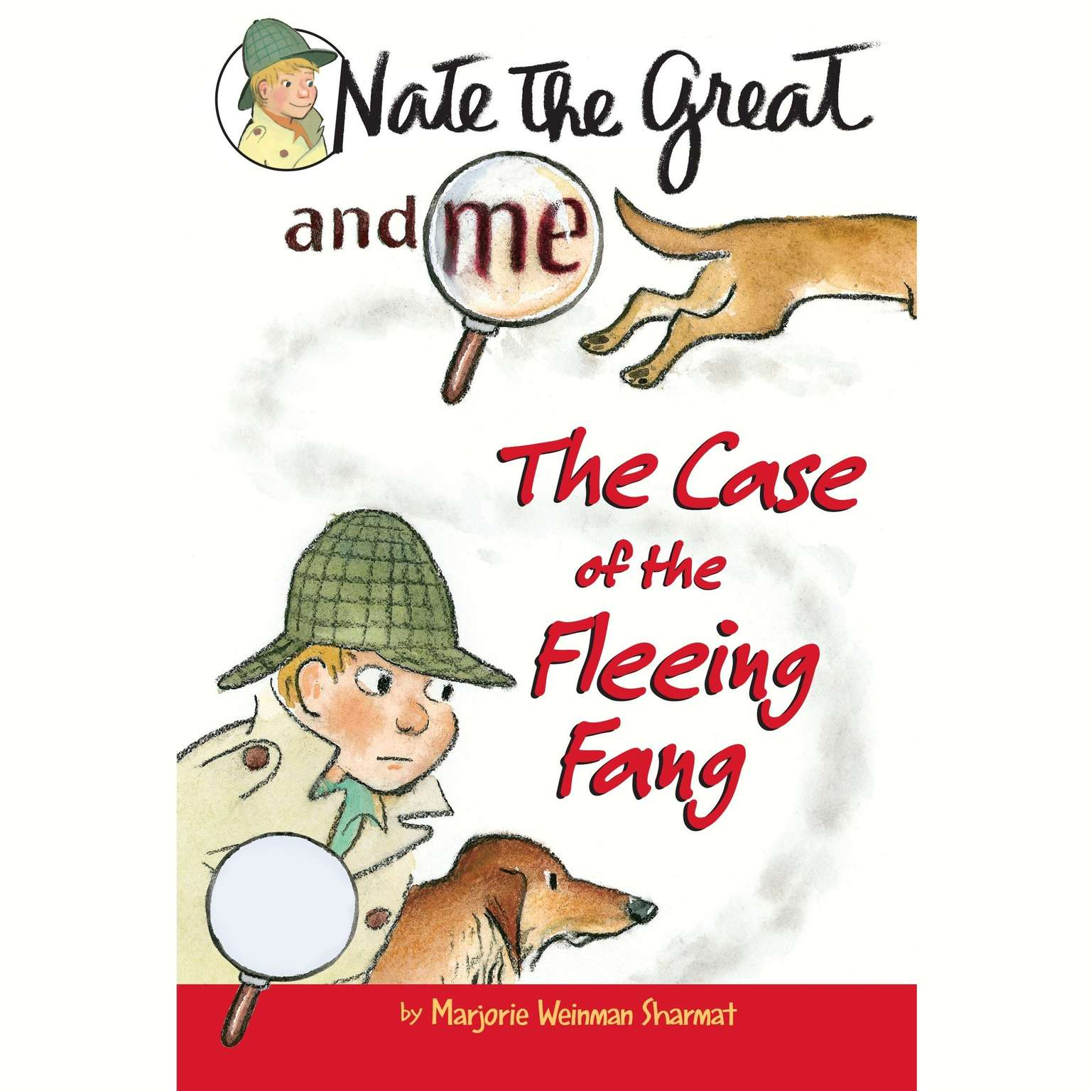 Printable Nate the Great and Me: The Case of the Fleeing Fang Audiobook Cover Art