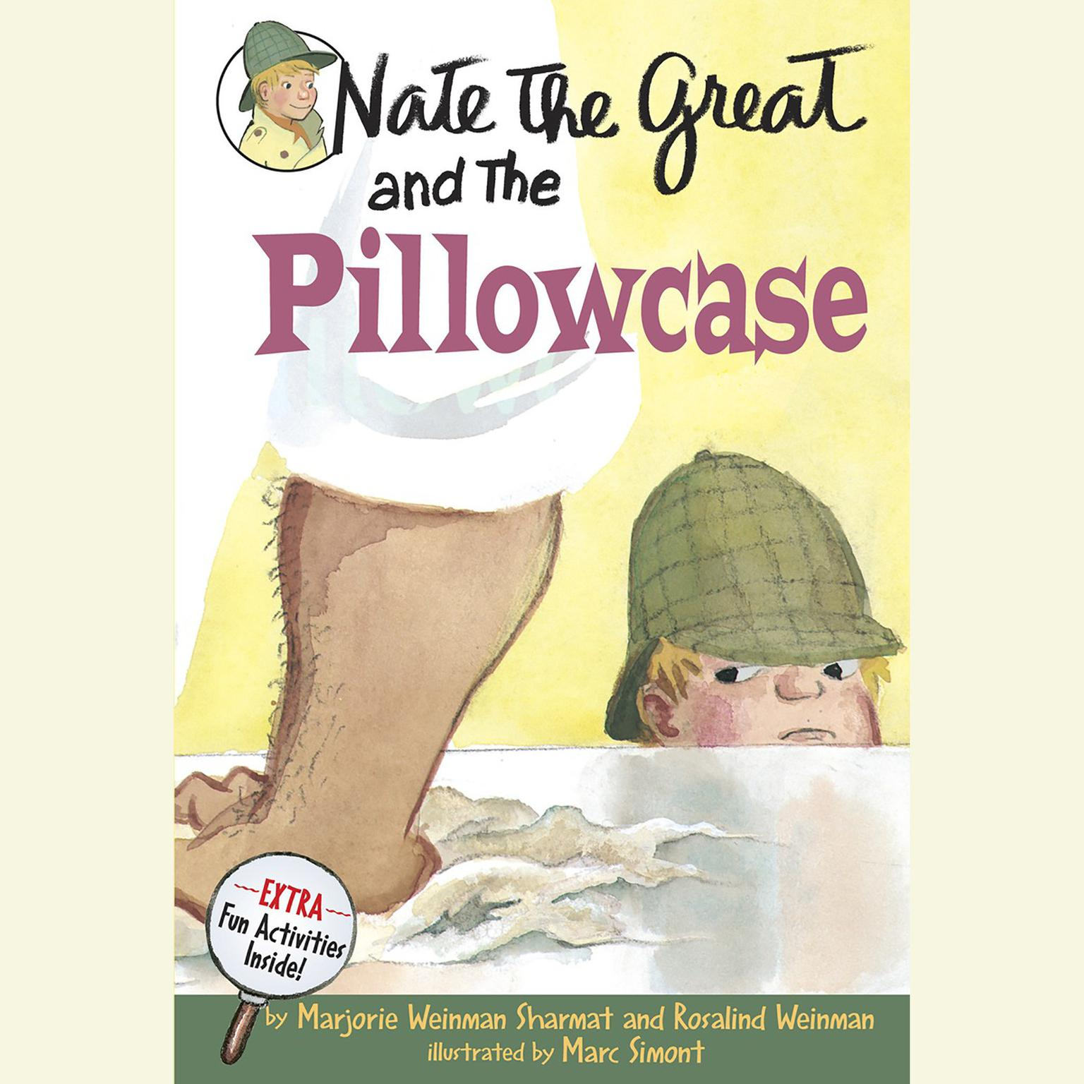 Printable Nate the Great and the Pillowcase Audiobook Cover Art