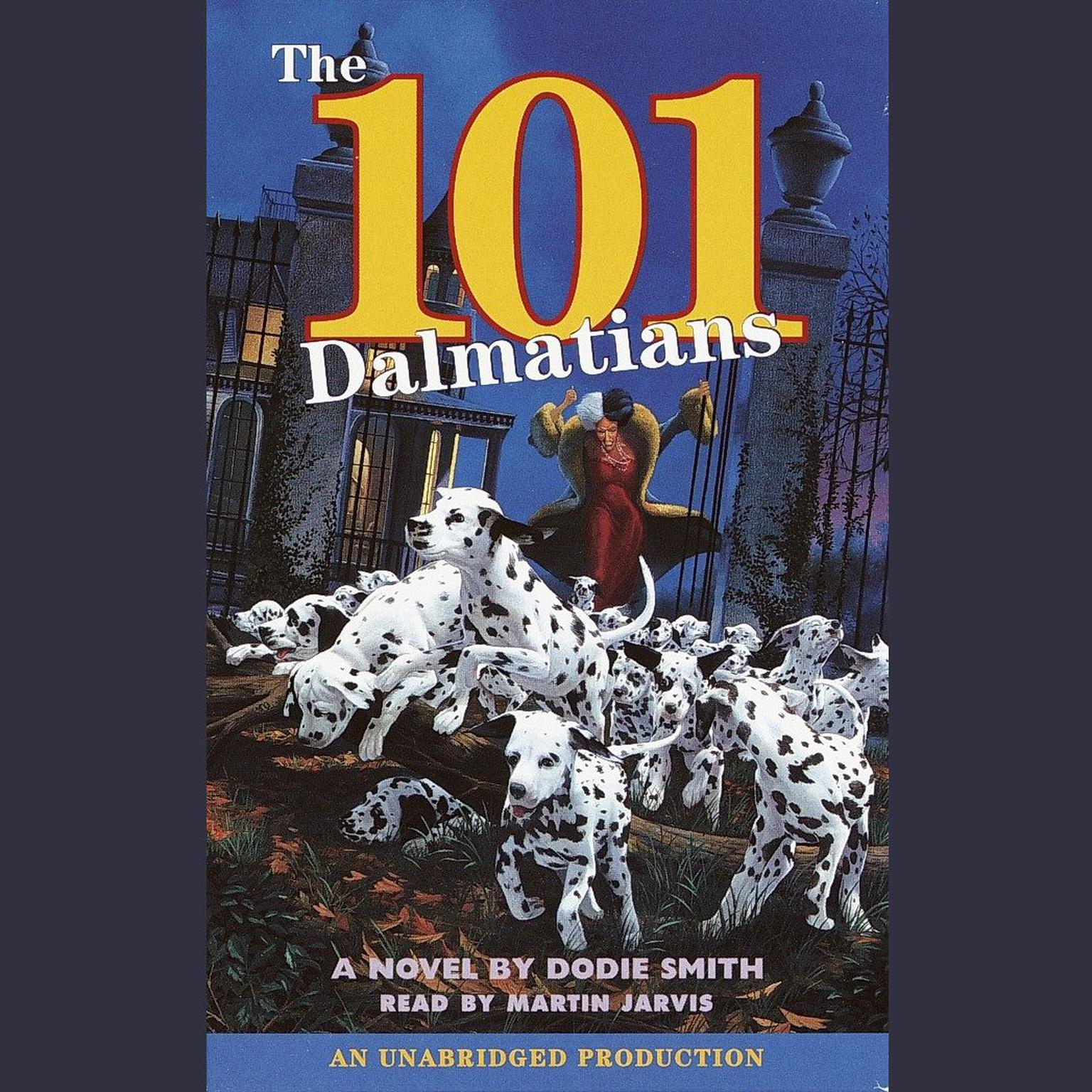 Printable The 101 Dalmatians Audiobook Cover Art