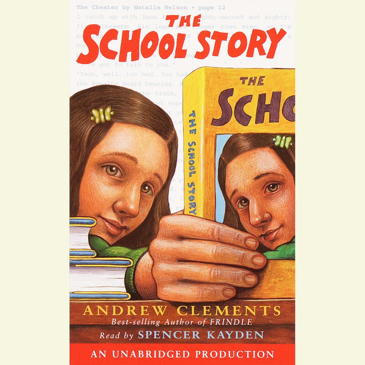 Printable The School Story Audiobook Cover Art