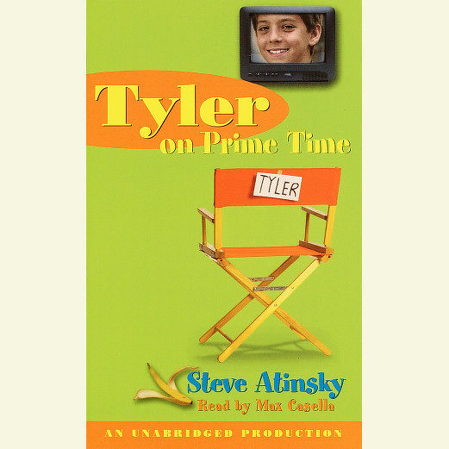 Printable Tyler on Prime Time Audiobook Cover Art