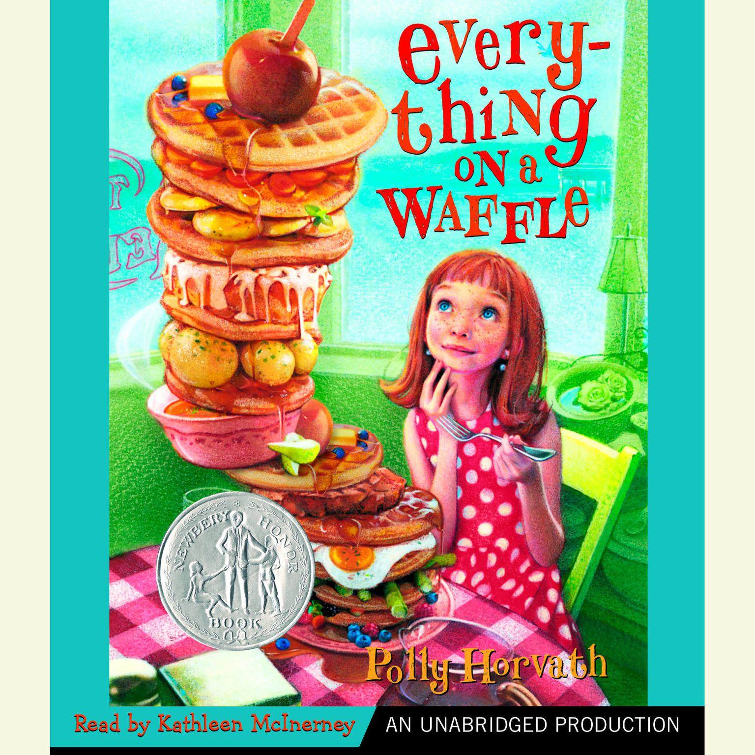 Printable Everything on a Waffle Audiobook Cover Art