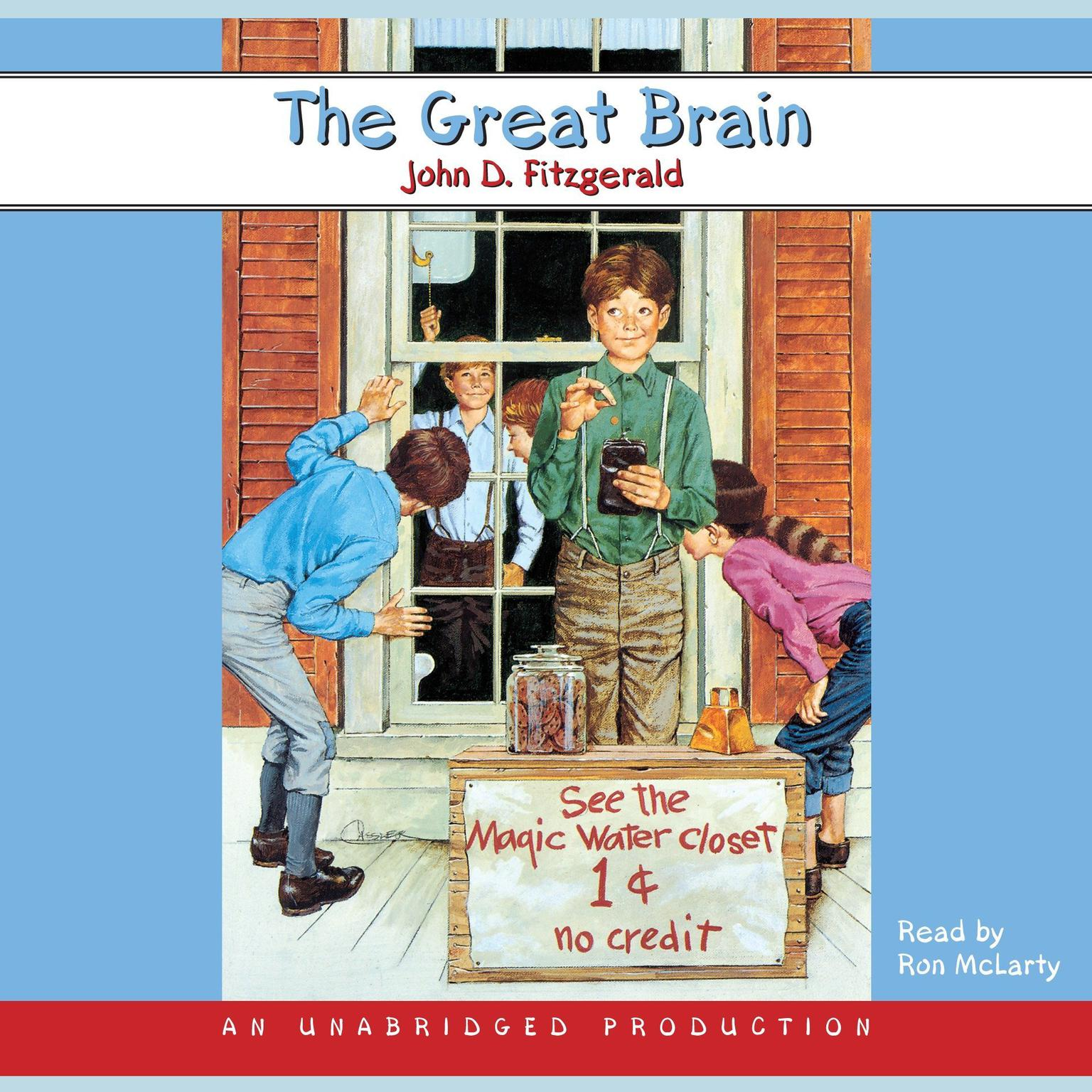 Printable The Great Brain Audiobook Cover Art