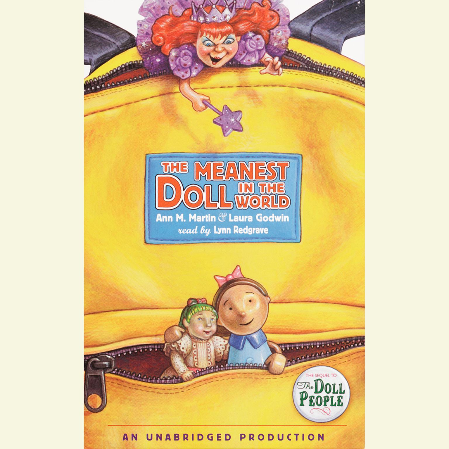 Printable The Meanest Doll in the World Audiobook Cover Art