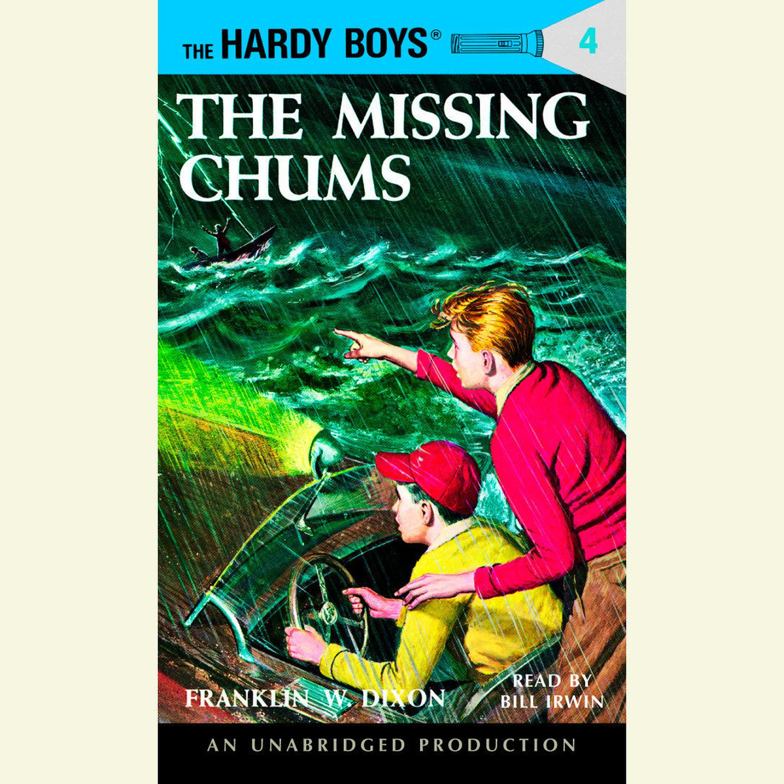 The Hardy Boys #4: The Missing Chums Audiobook, by Franklin W. Dixon
