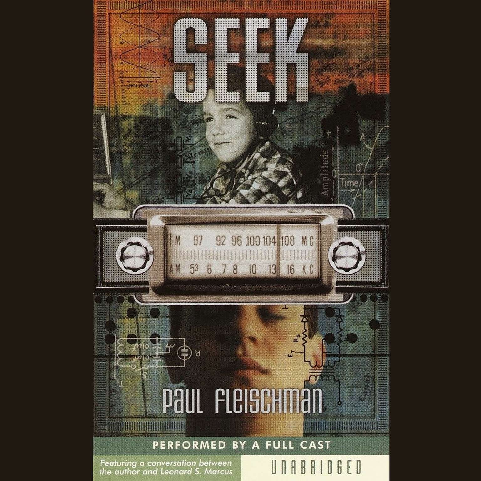 Printable Seek Audiobook Cover Art