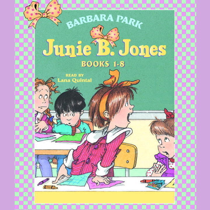 Printable Junie B. Jones Collection: Books 1-8 Audiobook Cover Art
