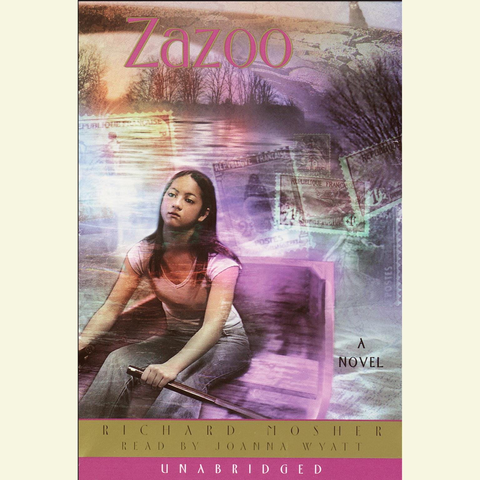 Printable Zazoo Audiobook Cover Art