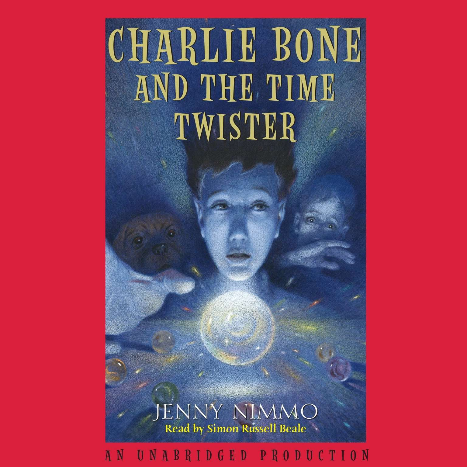 Printable Charlie Bone and the Time Twister Audiobook Cover Art