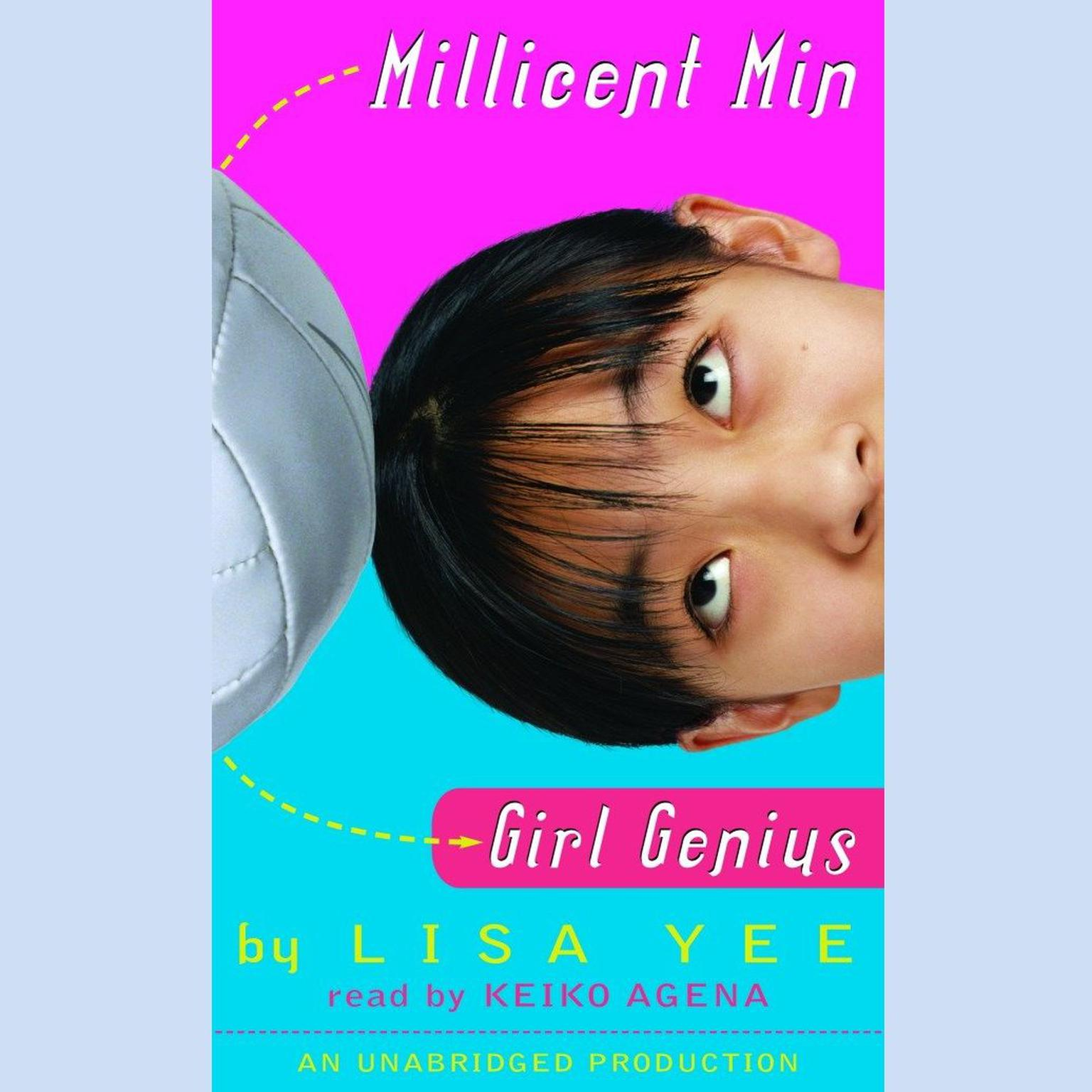 Printable Millicent Min, Girl Genius Audiobook Cover Art