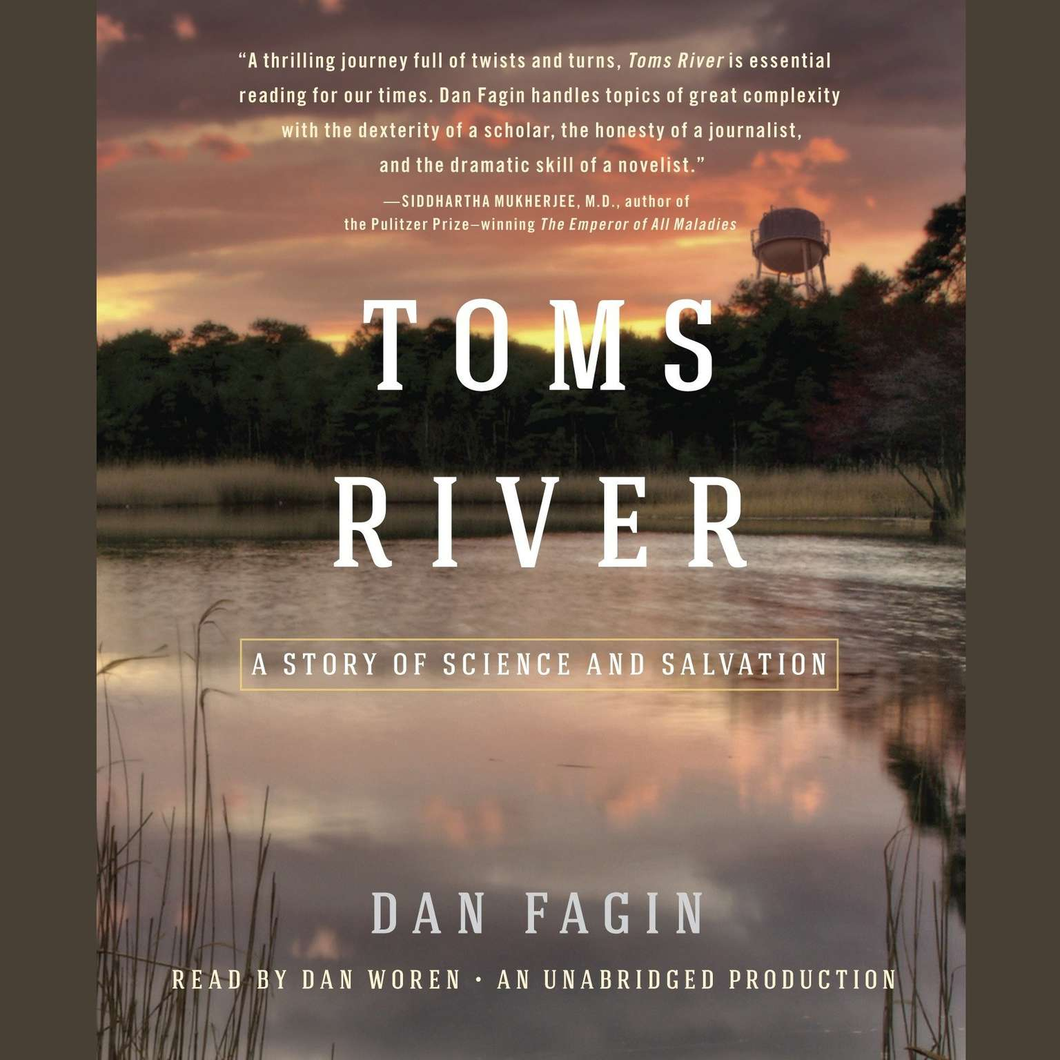 Printable Toms River: A Story of Science and Salvation Audiobook Cover Art