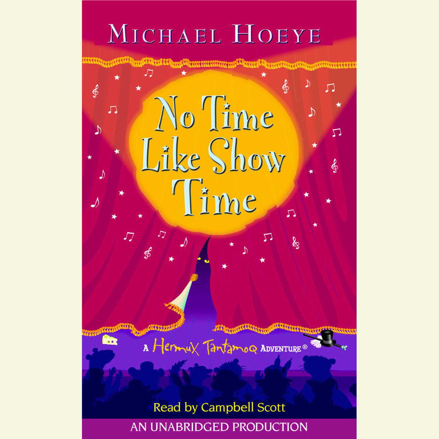 Printable No Time Like Show Time: A Hermux Tantamoq Adventure: A Hermux Tantamoq Adventure Audiobook Cover Art
