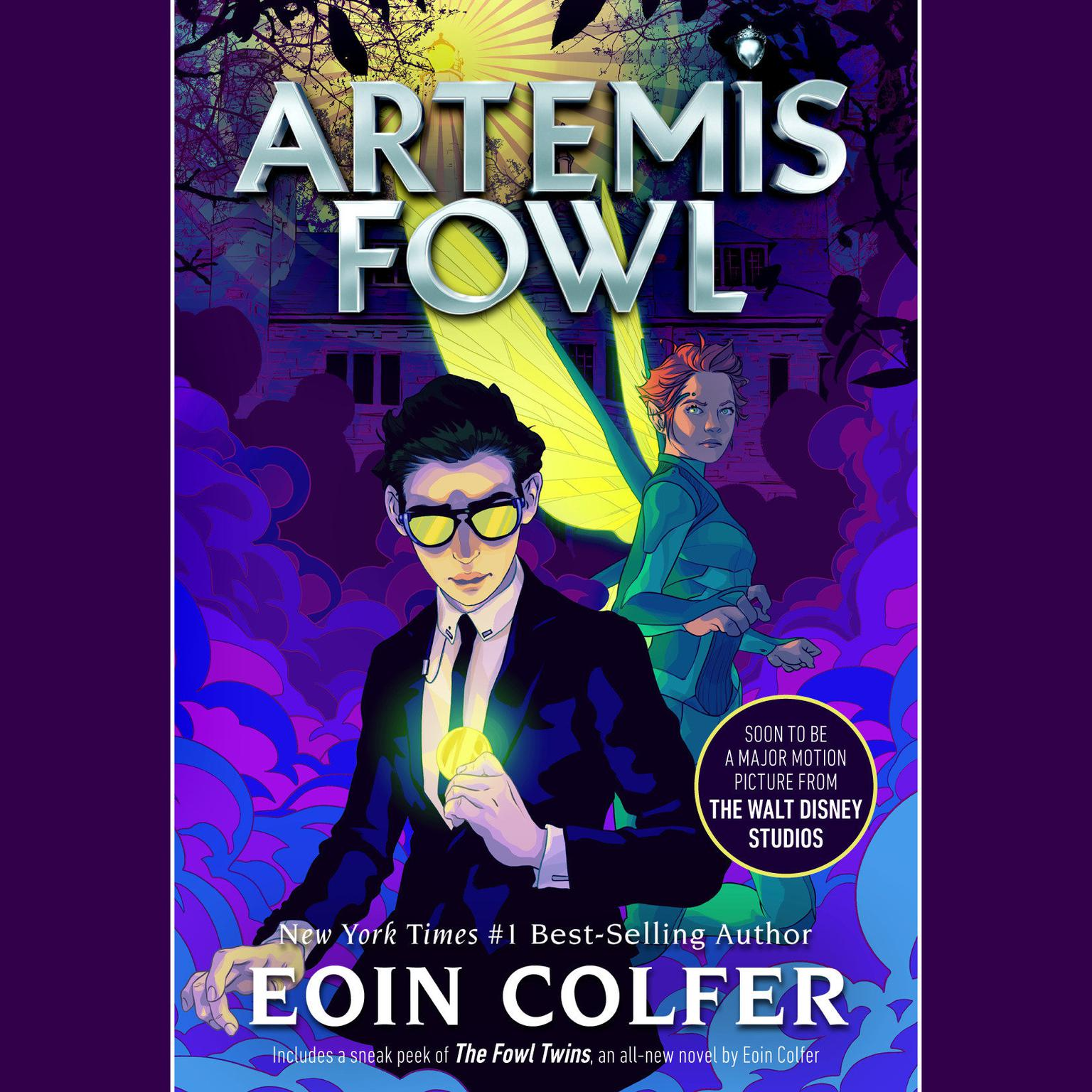 Printable Artemis Fowl Audiobook Cover Art