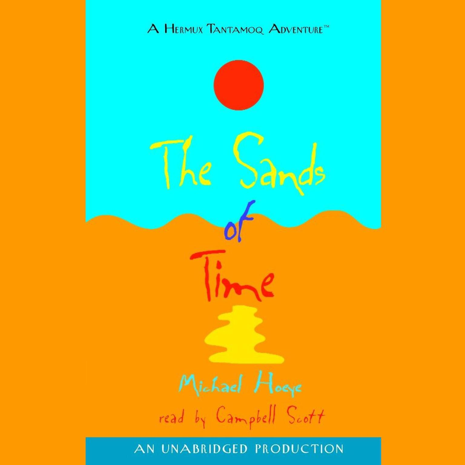 Printable The Sands of Time Audiobook Cover Art