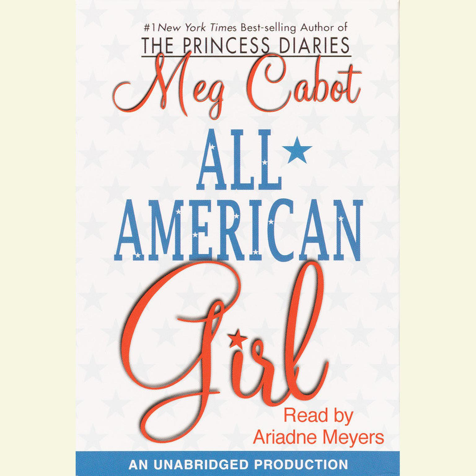 Printable All-American Girl Audiobook Cover Art