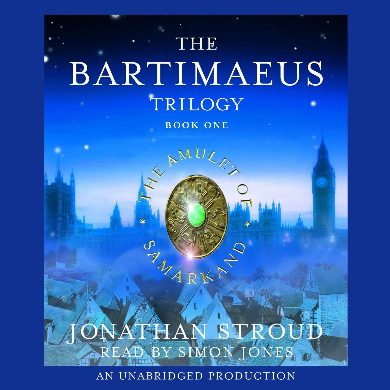 Printable The Bartimaeus Trilogy, Book One: The Amulet of Samarkand Audiobook Cover Art