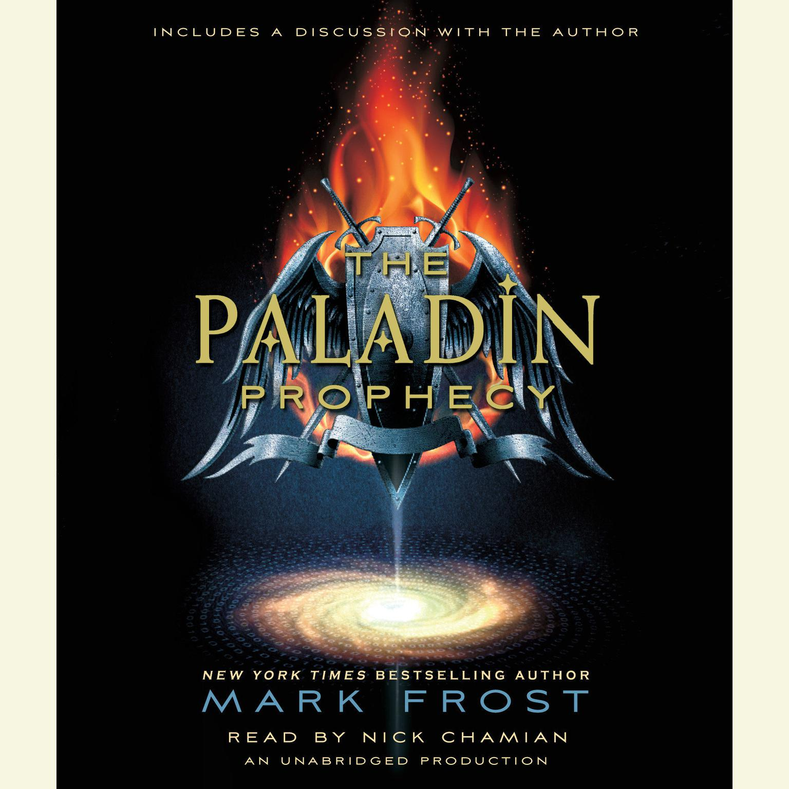 Printable The Paladin Prophecy: Book 1 Audiobook Cover Art