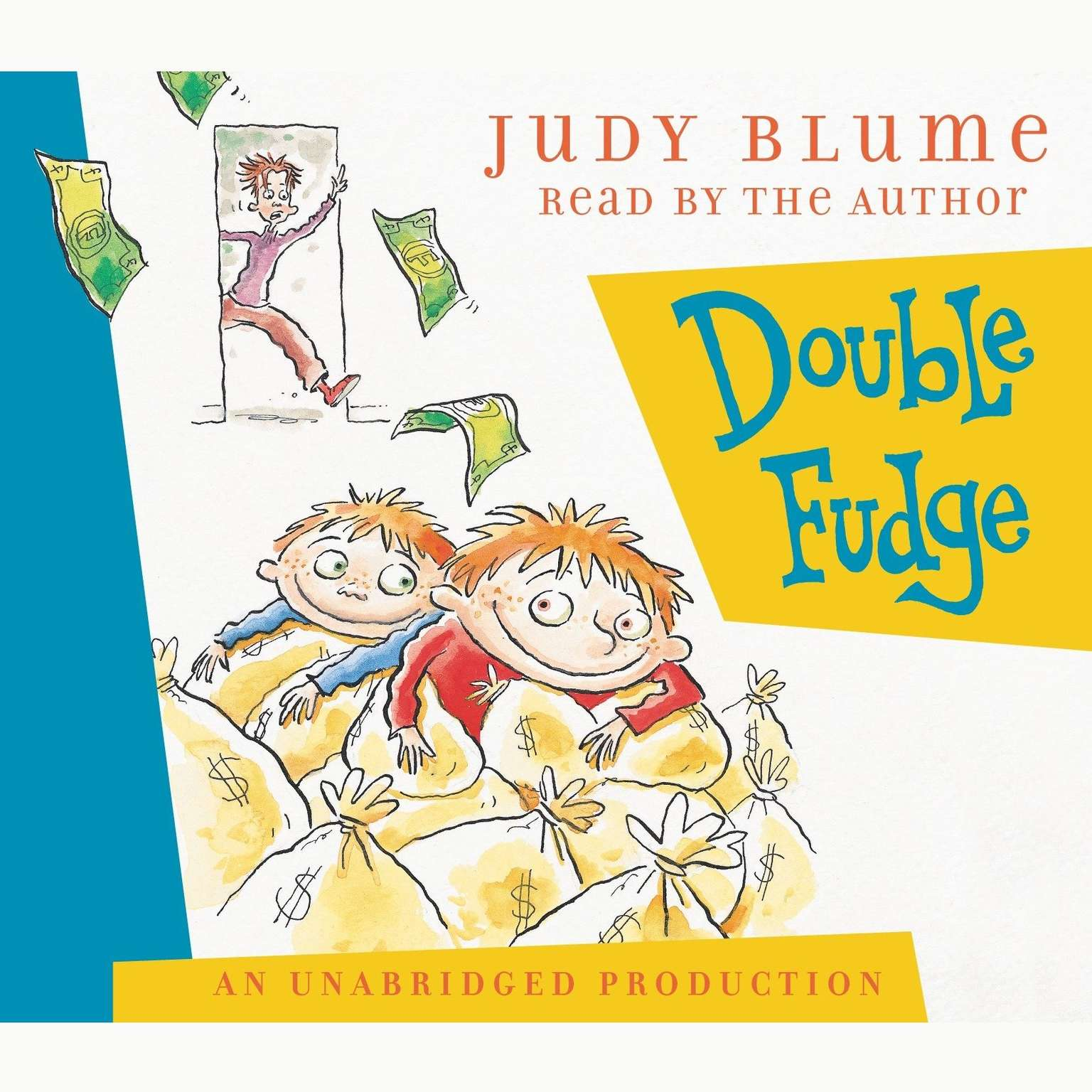Printable Double Fudge Audiobook Cover Art