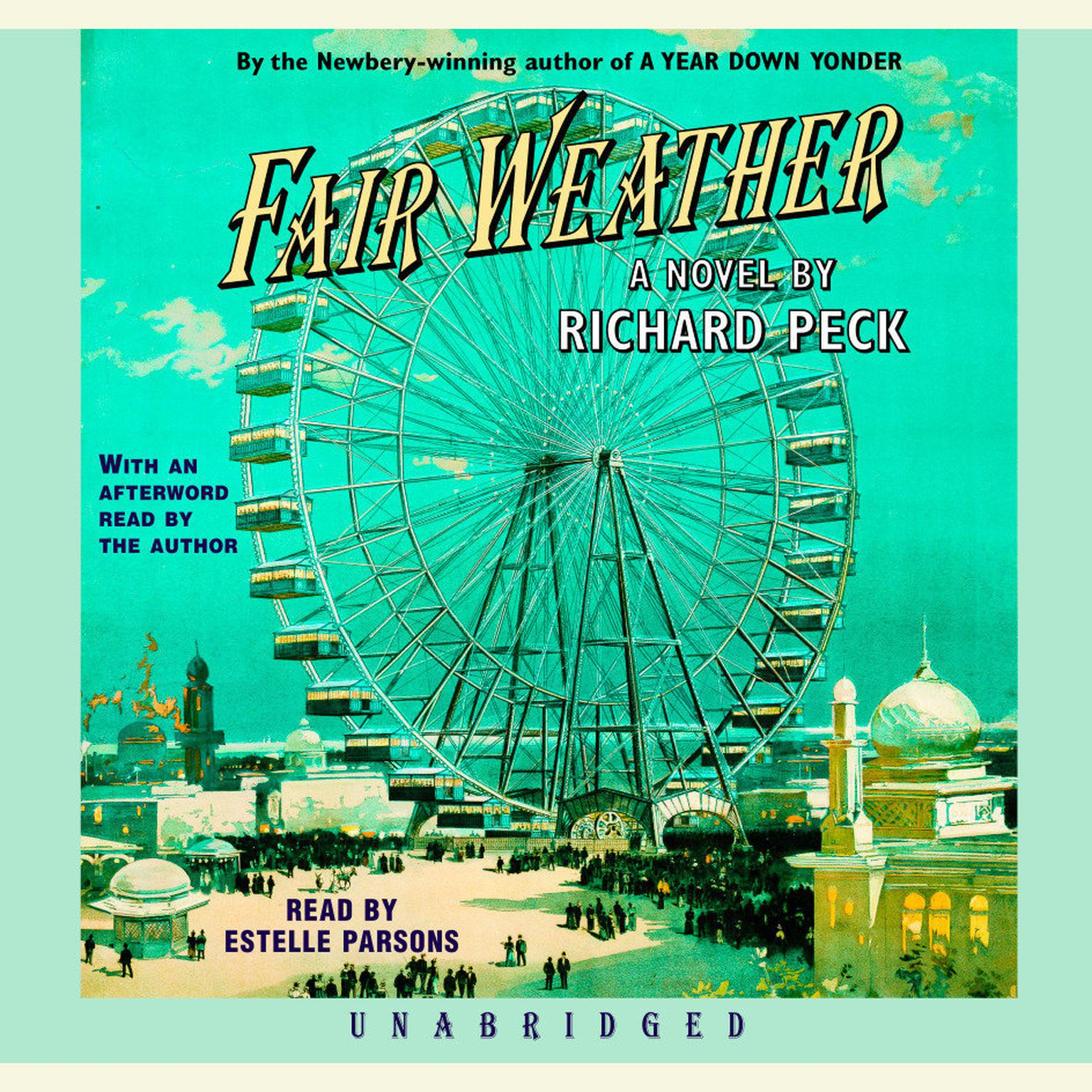 Printable Fair Weather Audiobook Cover Art