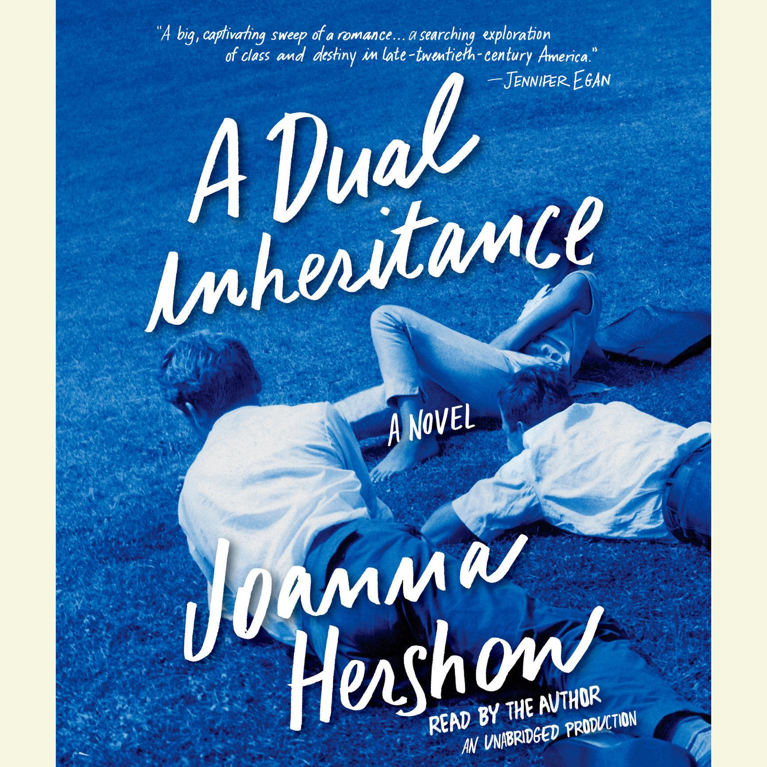 Printable A Dual Inheritance: A Novel Audiobook Cover Art