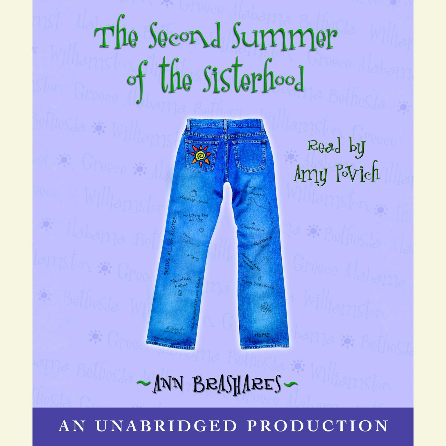 Printable The Second Summer of the Sisterhood Audiobook Cover Art