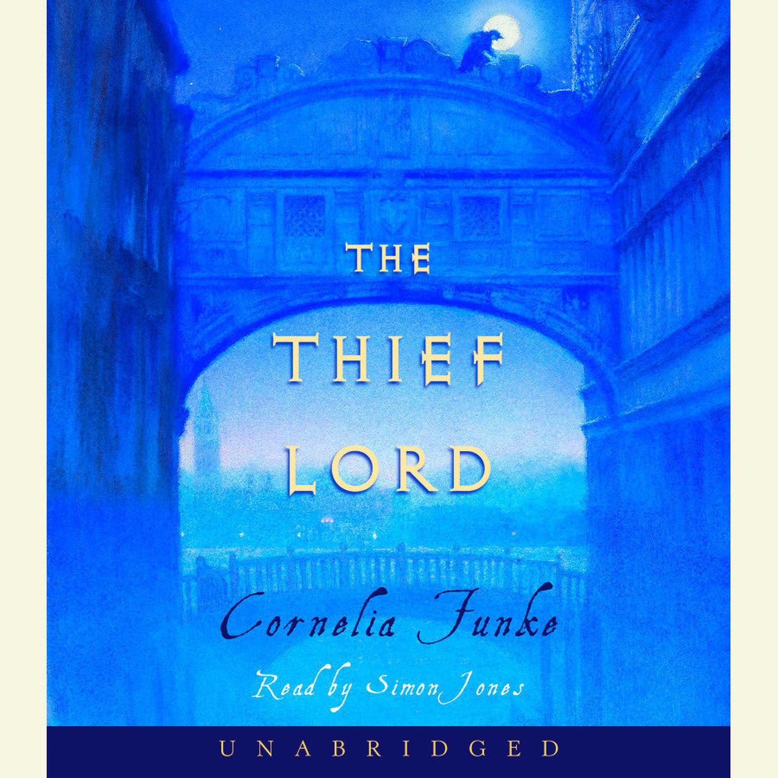 Printable The Thief Lord Audiobook Cover Art