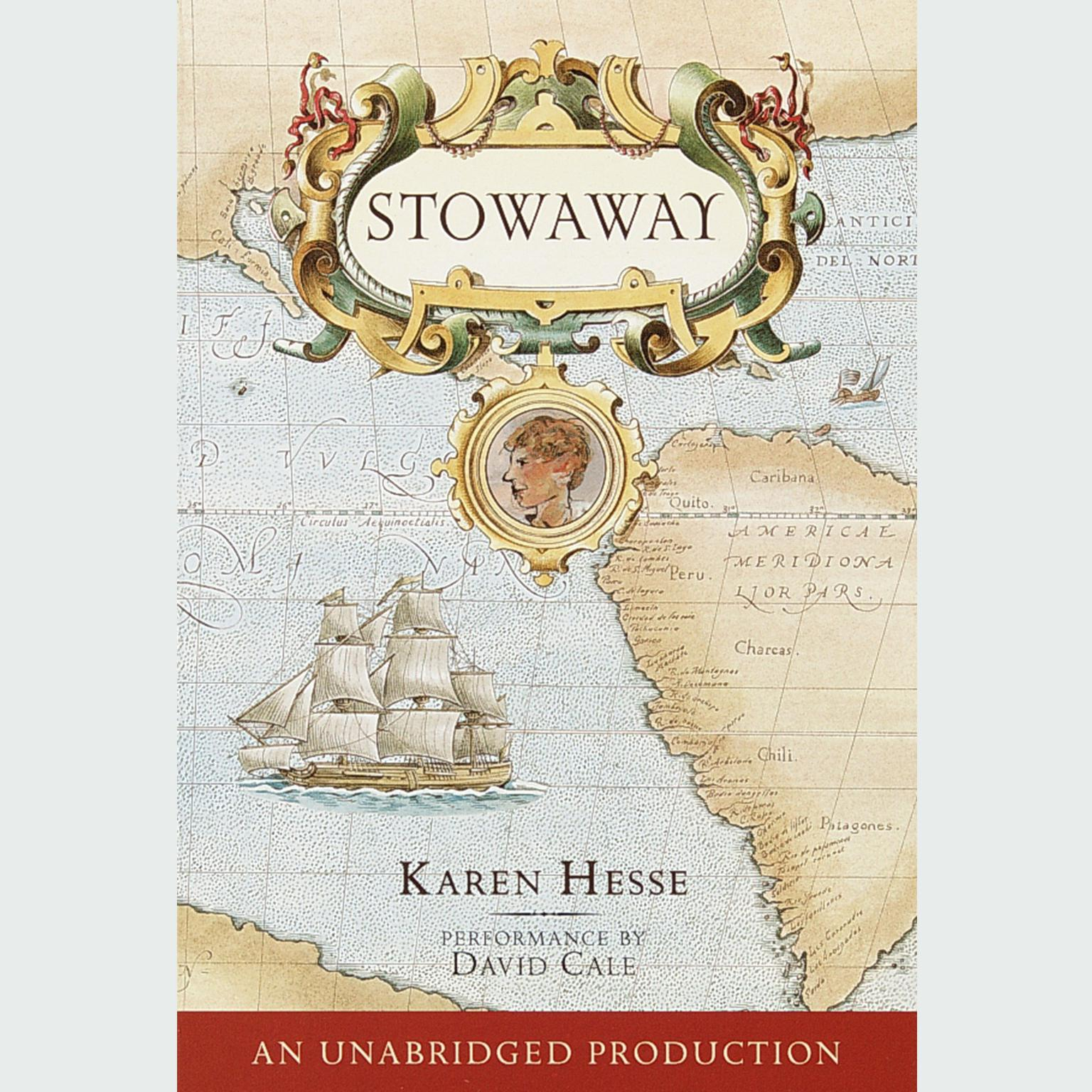 Printable Stowaway Audiobook Cover Art