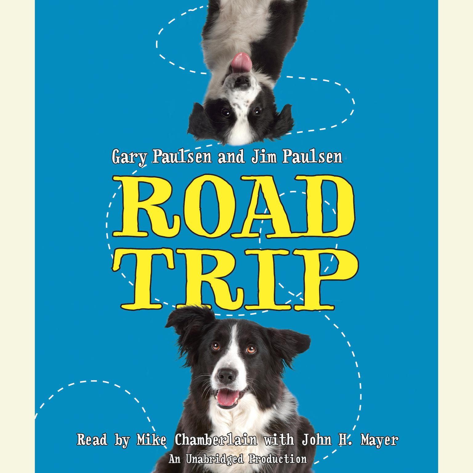 Printable Road Trip Audiobook Cover Art