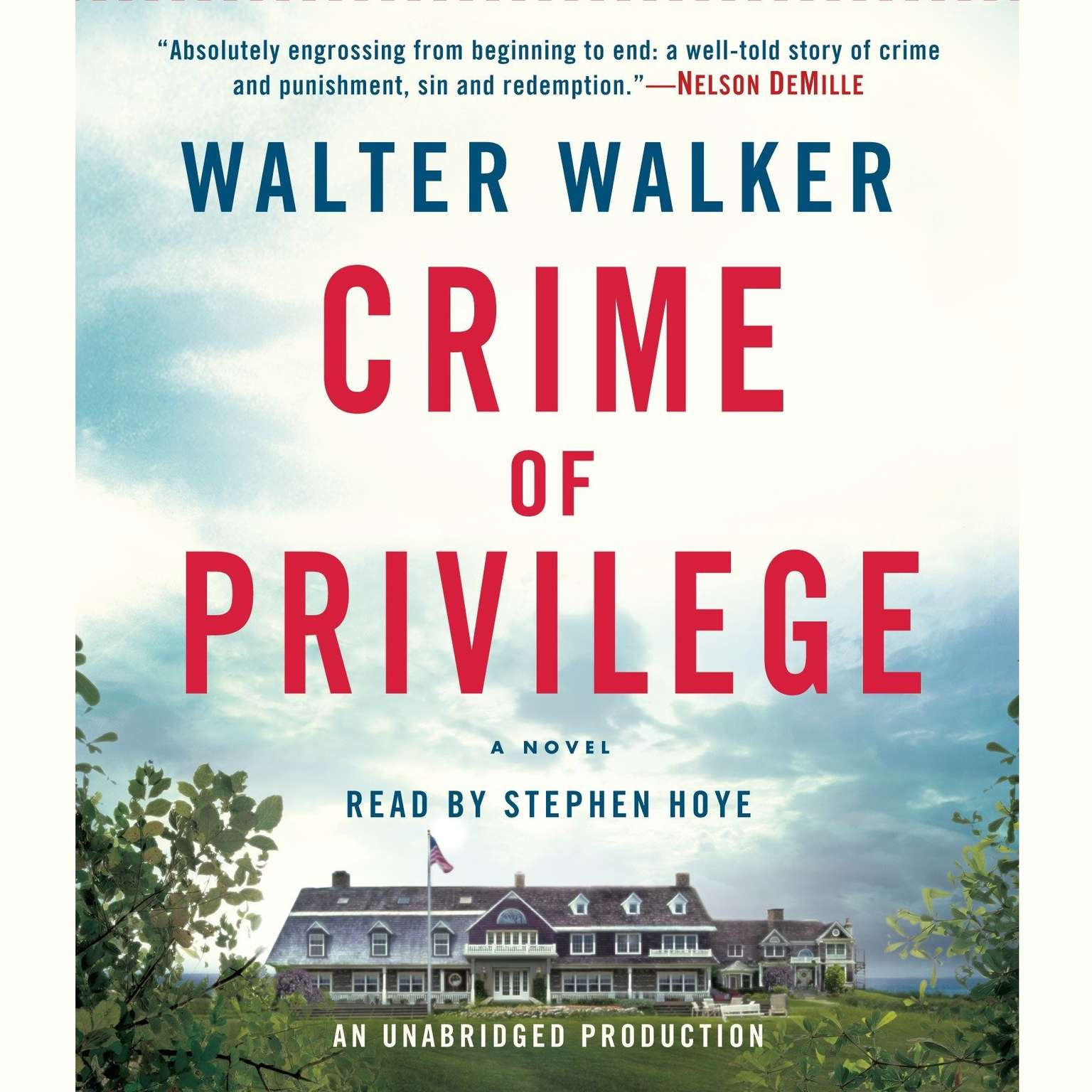 Printable Crime of Privilege Audiobook Cover Art
