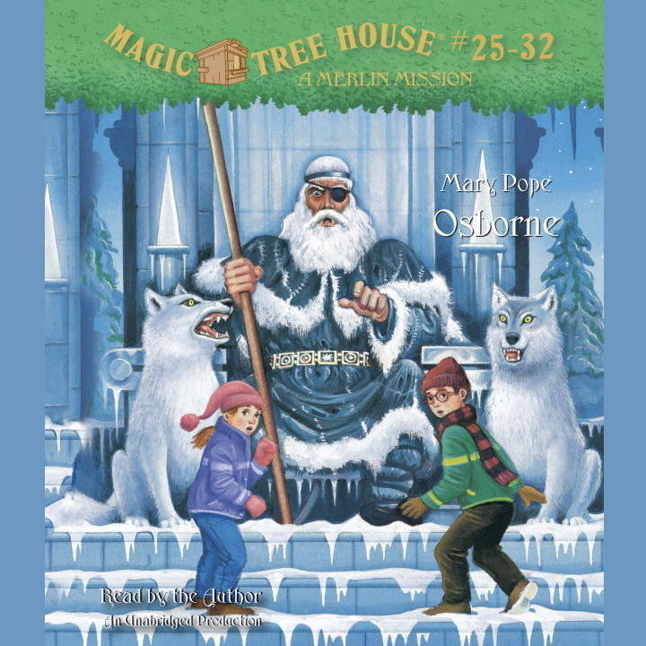 Printable Magic Tree House Collection: Books 25–32 Audiobook Cover Art