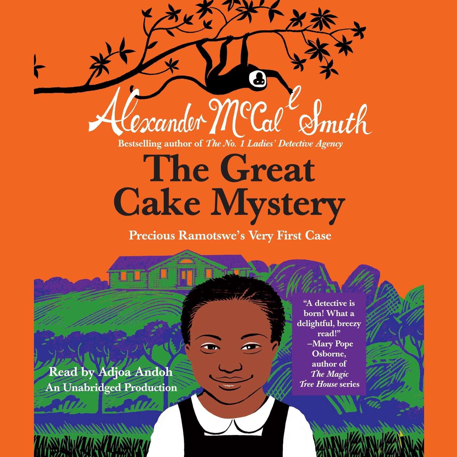 Printable The Great Cake Mystery: Precious Ramotswe's Very First Case Audiobook Cover Art