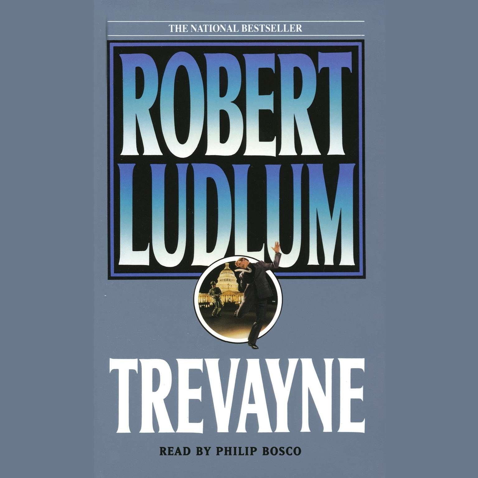Printable Trevayne Audiobook Cover Art