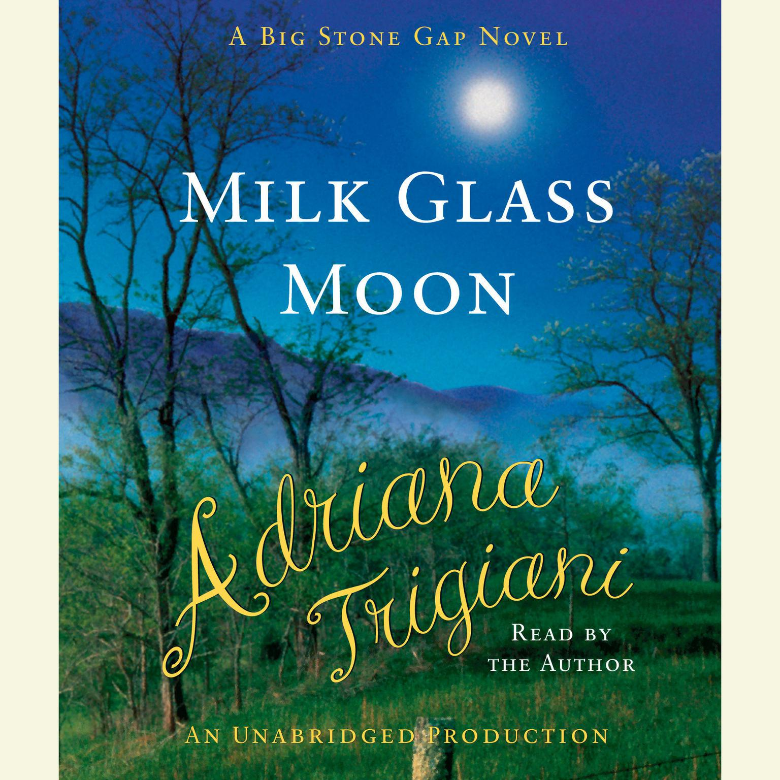 Printable Milk Glass Moon Audiobook Cover Art
