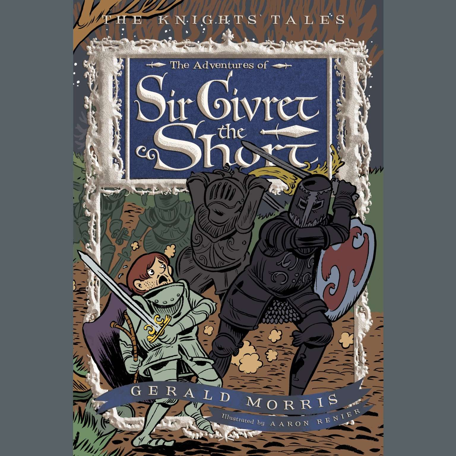 Printable The Adventures of Sir Givret the Short Audiobook Cover Art