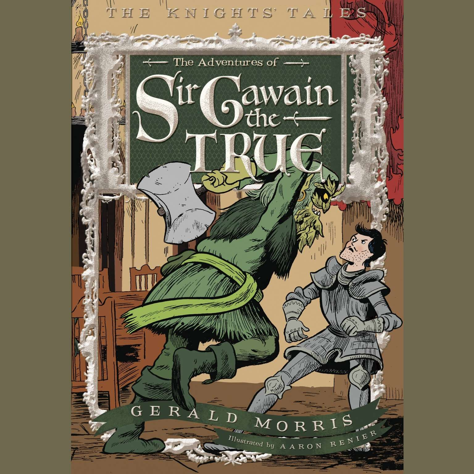 Printable The Adventures of Sir Gawain the True Audiobook Cover Art