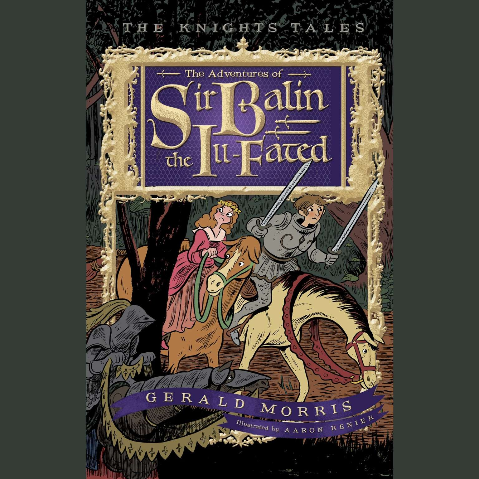 Printable The Adventures of Sir Balin the Ill-Fated Audiobook Cover Art