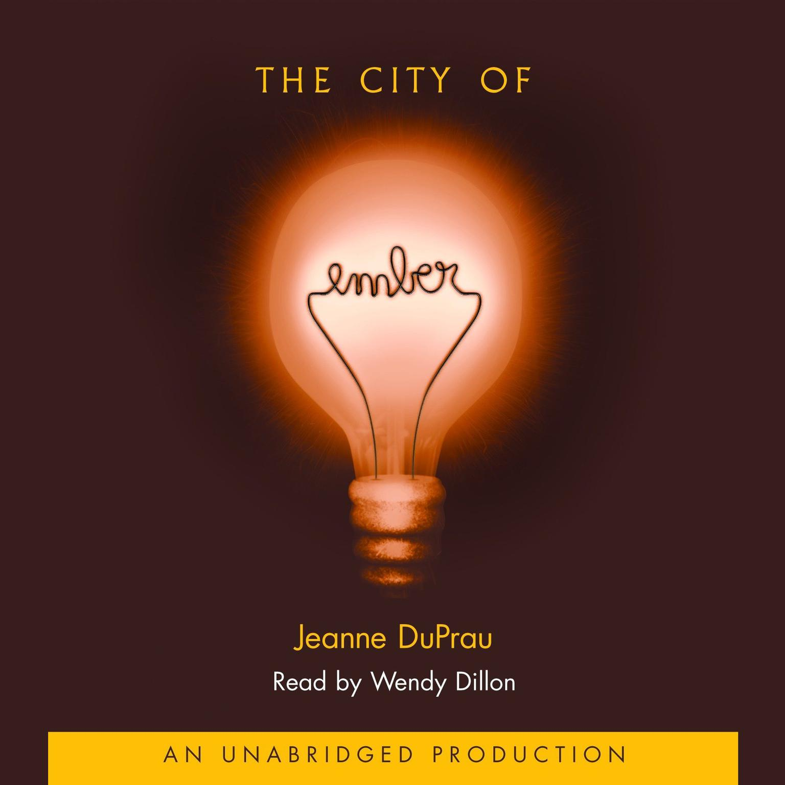 Printable The City of Ember: The First Book of Ember Audiobook Cover Art