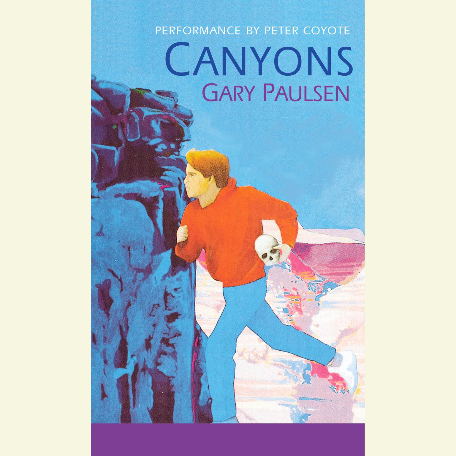 Printable Canyons Audiobook Cover Art