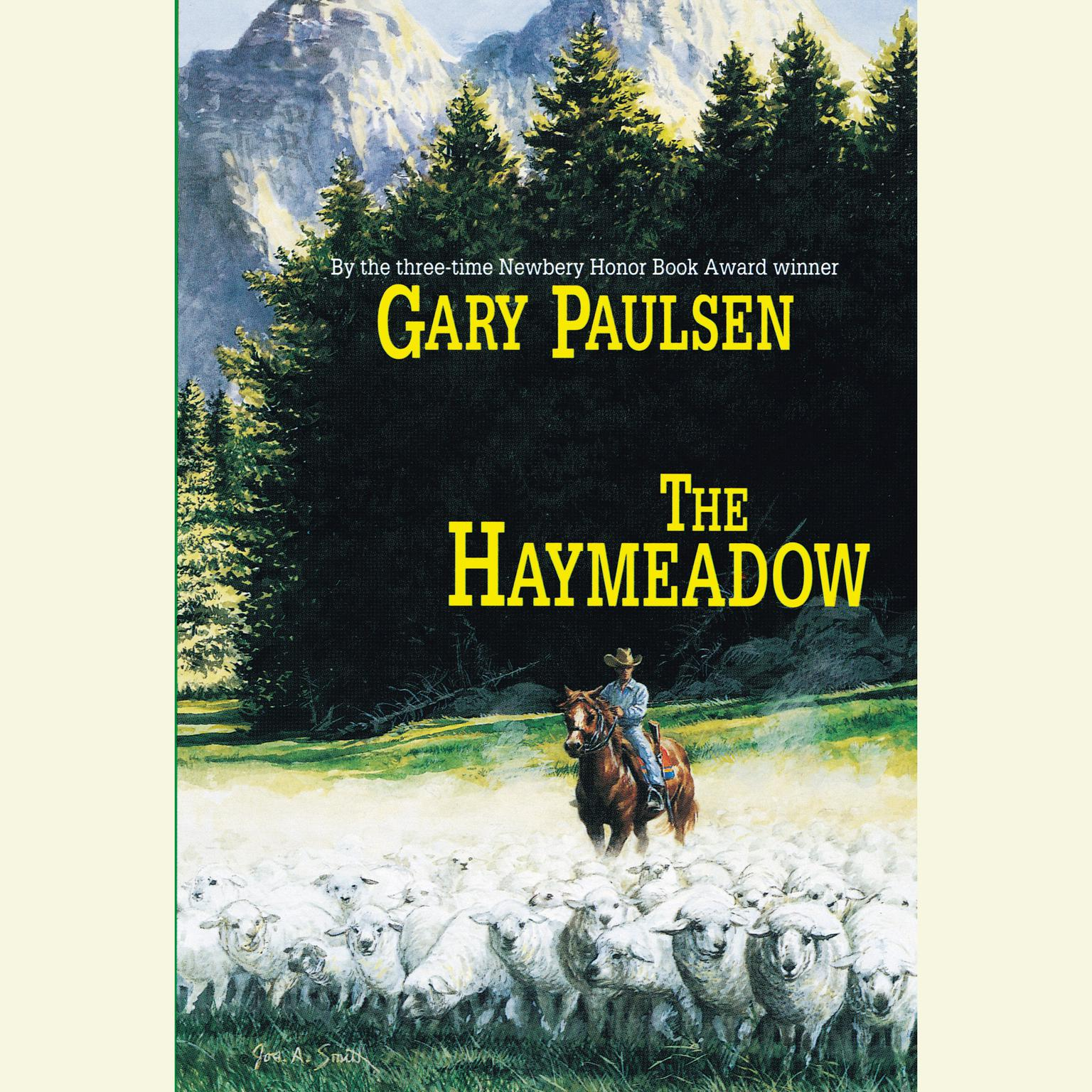 Printable The Haymeadow Audiobook Cover Art
