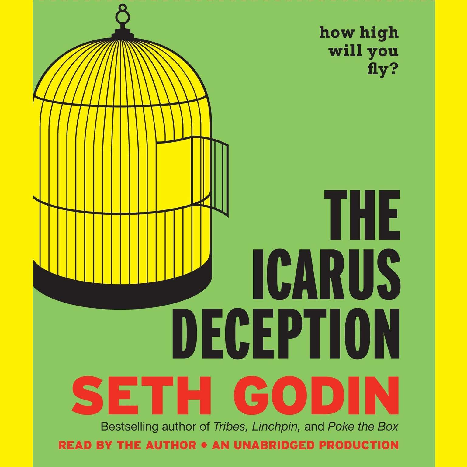 Printable The Icarus Deception: How High Will You Fly? Audiobook Cover Art