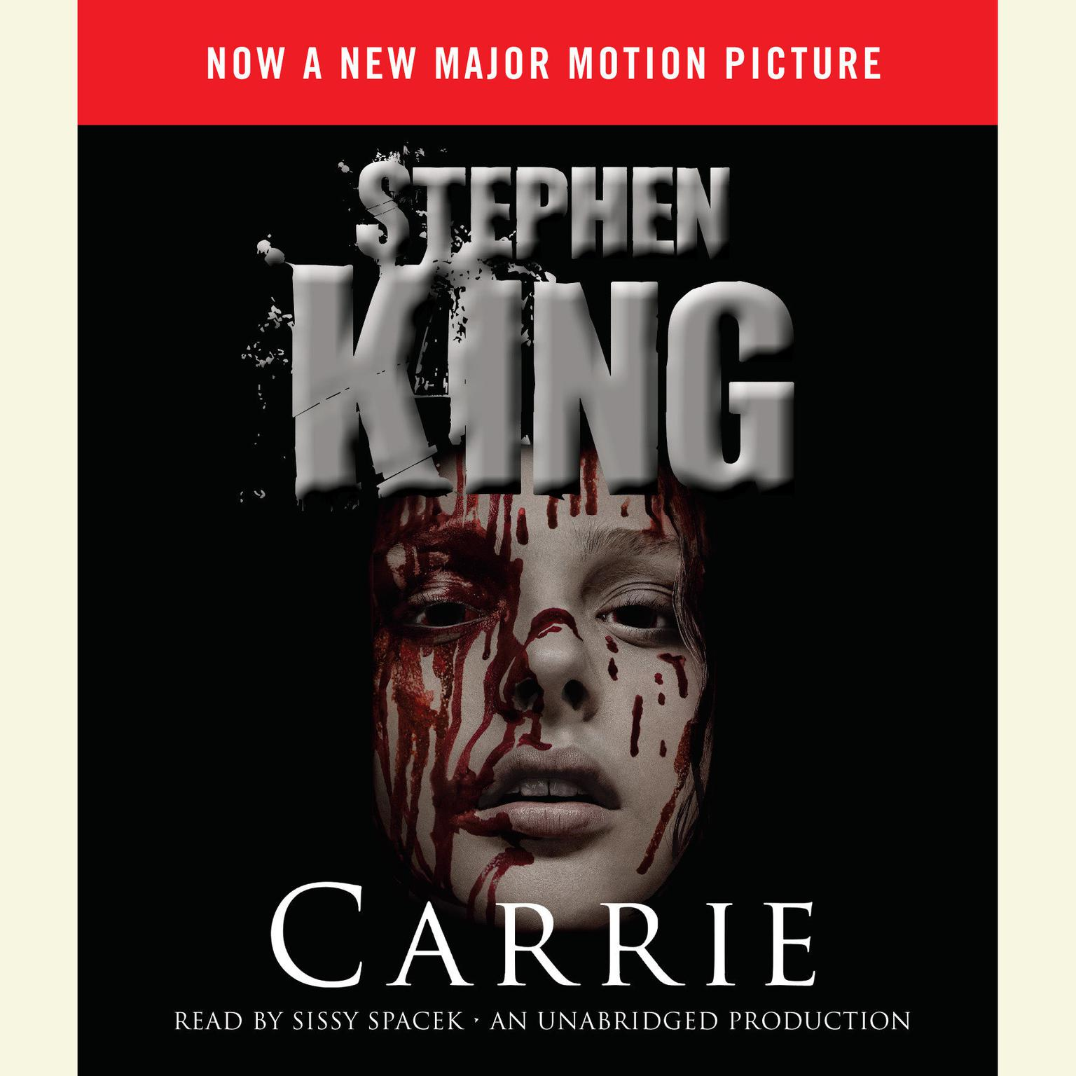Printable Carrie (Movie Tie-in Edition): Now a Major Motion Picture Audiobook Cover Art